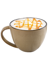 Coffee Latte with Caramel