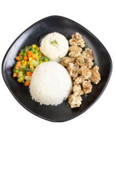 Combo plate Chicken With Rice