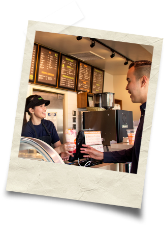 Customer and Cashier Interaction