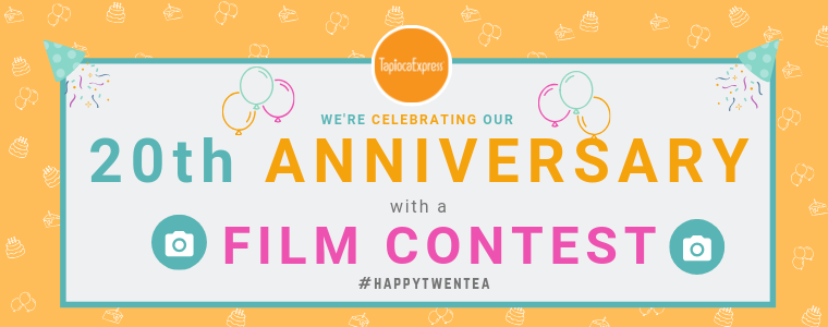 We're celebrating our 20th anniversary with a film contest!