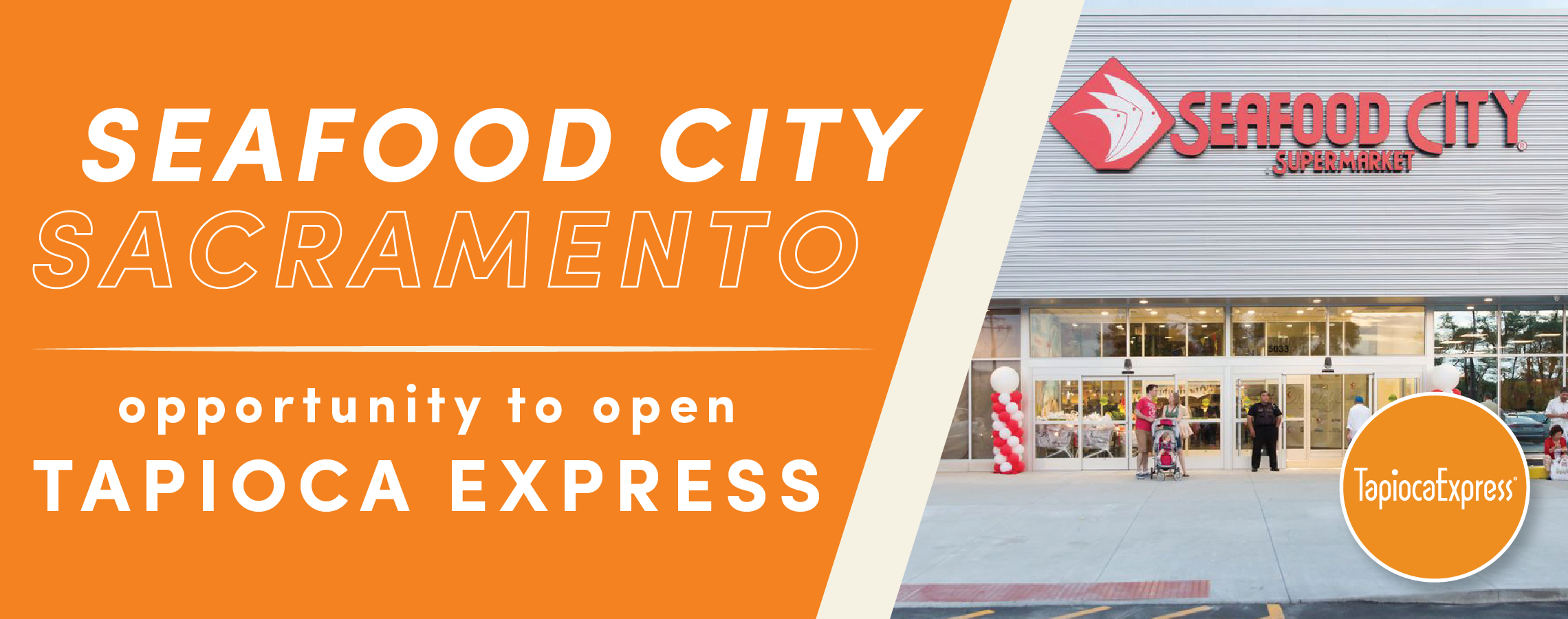 Opportunity to franchise Seafood City Sacramento